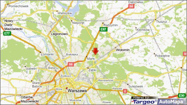 Zderzenie na drodze wojewódzkiej 631 targeo.pl