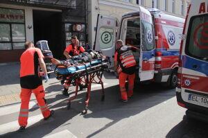 Atak na policjantów: 28-latek usłyszał zarzuty