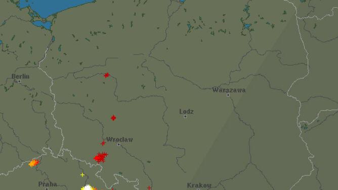 Burzowa sobota nad Polską. <br />Sprawdź, gdzie grzmiało