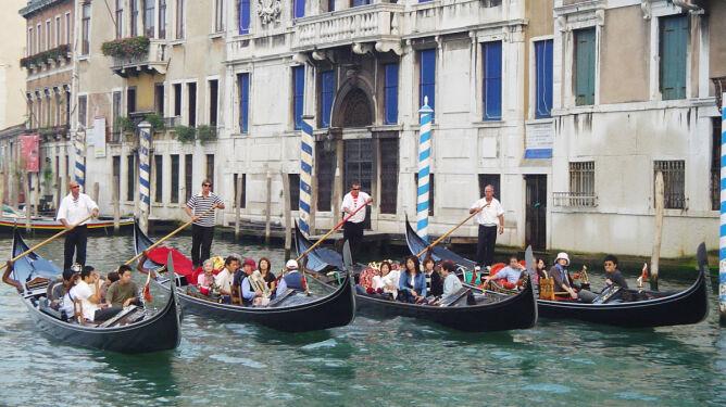 1600 zł za godzinną przejażdżkę gondolą w Wenecji