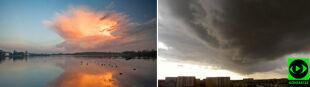 Cumulonimbus incus na niebie. Chmury burzowe w obiektywach Reporterów24