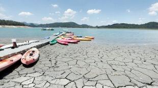 Wysycha jedno z największych jezior na Tajwanie