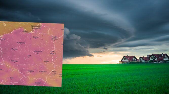 Pogoda na 5 dni: burze z ulewnym deszczem i do 31 stopni
