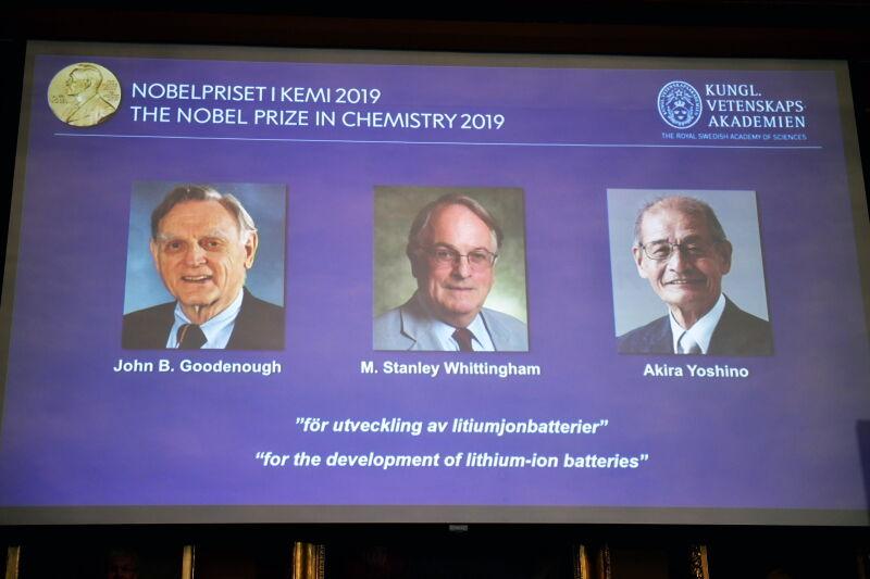 Laureaci Nagrody Nobla z chemii (PAP/EPA/Naina Helen Jama/TT)