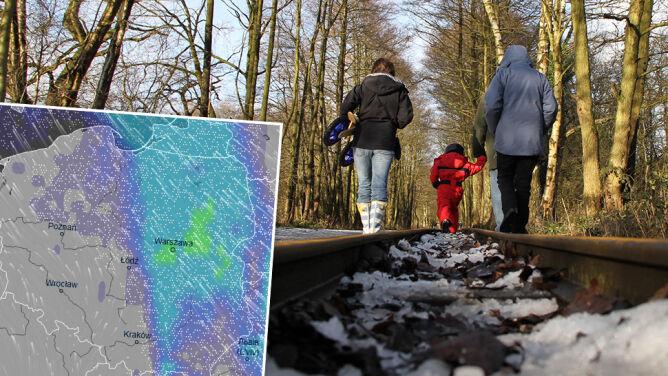 Najbliższe dni z opadami śniegu. <br />Temperatura nie przekroczy trzech stopni