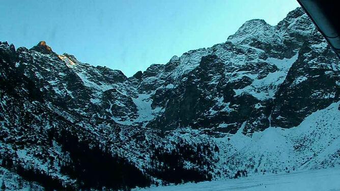 Seria wypadków w Tatrach. <br />Jeden z nich był śmiertelny
