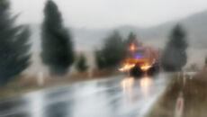 Przelotny deszcz będzie towarzyszyć kierowcom