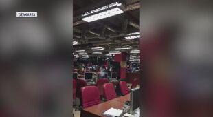 Wstrząsy odczuwalne były w Dżakarcie