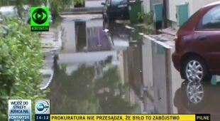Artur Chrzanowski o burzowej środzie (TVN24)