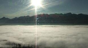 Poranne mgły nad Polską (TVN24)