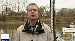 Hydrolog prof. Artur Magnuszewski o suszy w Polsce (TVN24)